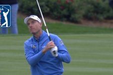 Jim Furyk sticks approach on 72nd hole at THE PLAYERS 2019
