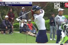 【golf】2019.3.291st round no16hole_ AXA ladise golf tournament UMK Country Club Miyazaki