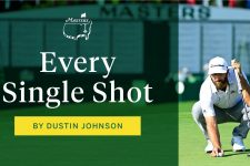 Every shot from Dustin Johnson's third round | The Masters