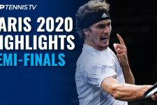 Medvedev Rolls; Zverev Stops Nadal | Paris 2020 Semi-Final Highlights
