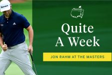 Quite a week for Jon Rahm   The Masters