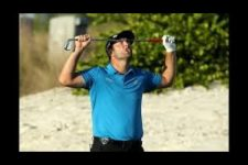 John Rahm FIRED UP Again! Takes Baseball Swing After Missed Putt.