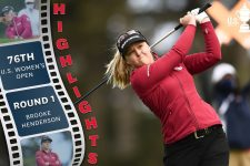 Brooke Henderson Opens With 68: 2021 U.S. Women's Open Highlights, Round 1