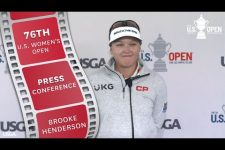 """Brooke Henderson: """"This Week You are Trying to Chase as Many Pars as You Can"""""""