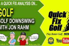 Check out our golf downswing with Jon Rahm