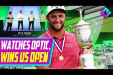 He Shouted Out OpTic After Winning US Open (John Rahm)