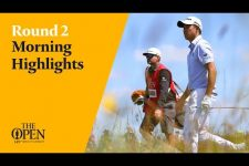 Colin Morikawa on a charge   Round Two Morning Highlights from The 149th Open