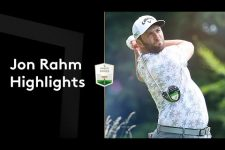 Jon Rahm's first round back after US Open win   Round 1 Highlights   2021 abrdn Scottish Open