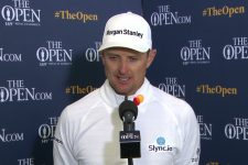 Justin Rose Thursday Flash Interview 2021 The Open Championship at Royal St. George's