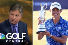 Positive nerves push Collin Morikawa to Open Championship victory   Golf Central   Golf Channel