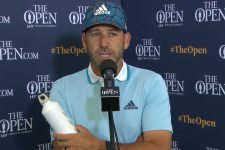 Sergio García Thursday Flash Interview 2021 The Open Championship at Royal St. George's