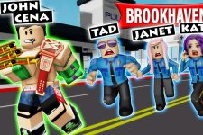 John Cena Stole All of the Sandwiches in Brookhaven! | Roblox Roleplay
