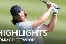 Tommy Fleetwood Round 1 Highlights   2021 DS Automobiles Italian Open
